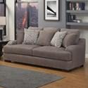 Benchley Furniture Co. Rowland Stationary Sofa - Item Number: Rowland Sofa ST-Smoke