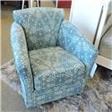Belfort Essentials 0400 Cady Swivel Chair - Item Number: 0400-90 TAURUS TEAL
