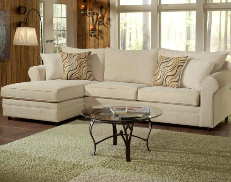 Belfort Essentials Monticello Left Arm Facing Chaise Sectional - Item Number: 5100-24L+20R