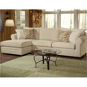 Belfort Essentials Monticello Left Arm Facing Chaise Sectional