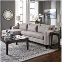 Belfort Essentials Parker Sofa Chaise - Item Number: 4600-24L+30R