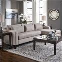 Belfort Essentials Parker Sofa Chaise - Item Number: 4600-24R+30L