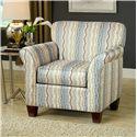 Belfort Essentials Addison Accent Chair - Item Number: 0480-10