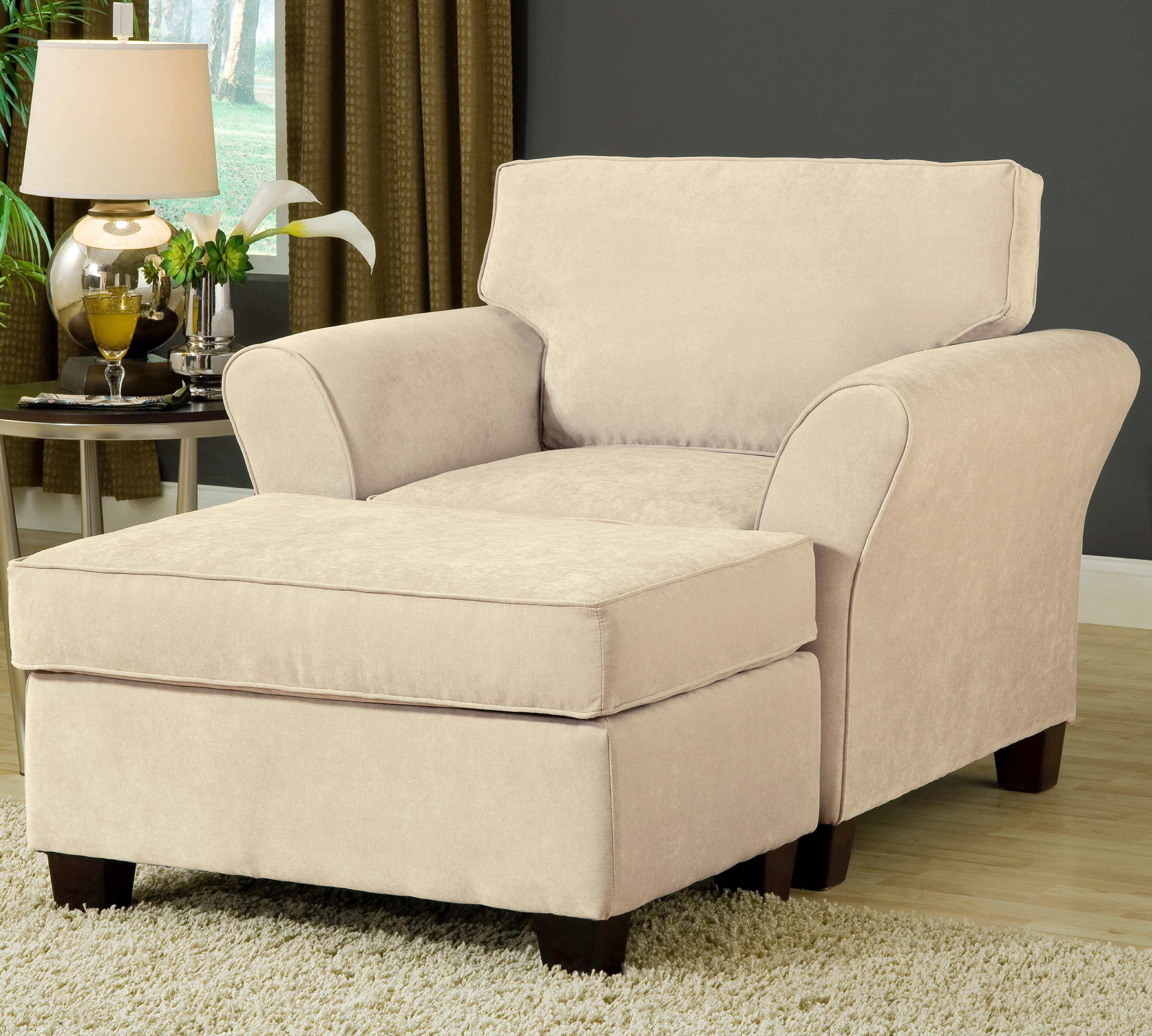 Addison 8400 Chair and Ottoman by VFM Essentials at Virginia Furniture Market