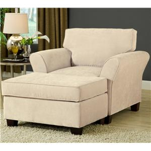 Belfort Essentials Addison Chair and Ottoman