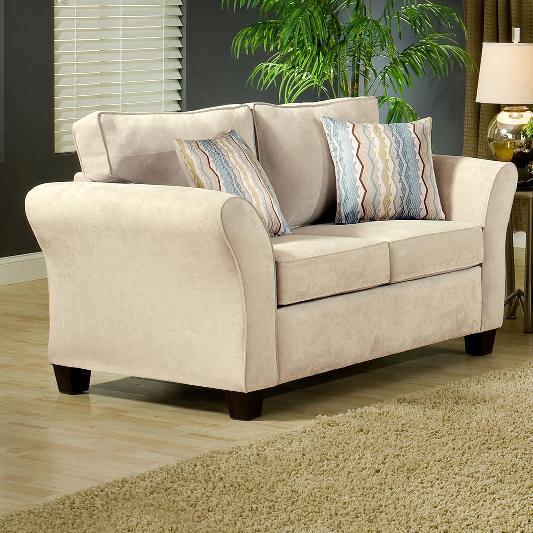 Belfort Essentials Addison Love Seat - Item Number: 8400-20