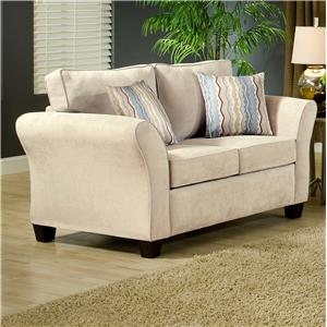 Belfort Essentials Addison Love Seat
