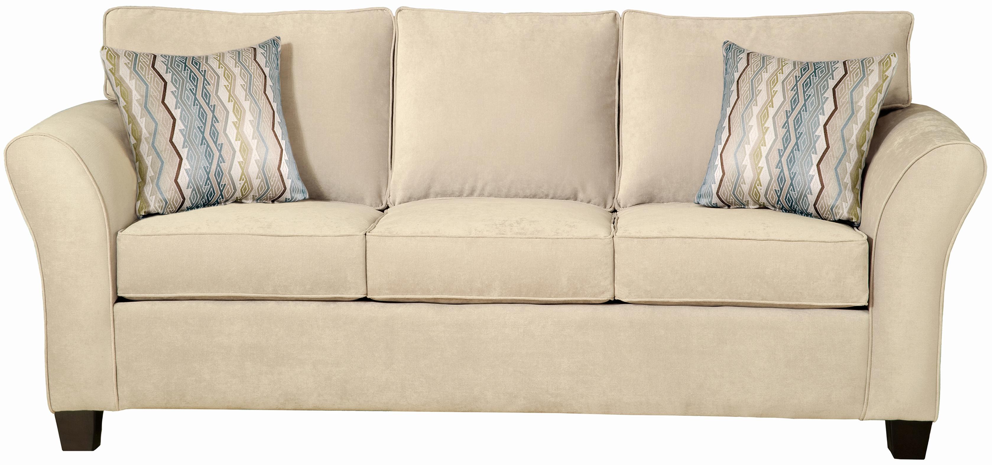 Belfort Essentials Addison Stationary Sofa - Item Number: 8400-30