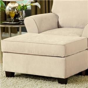Belfort Essentials Addison Upholstered Ottoman