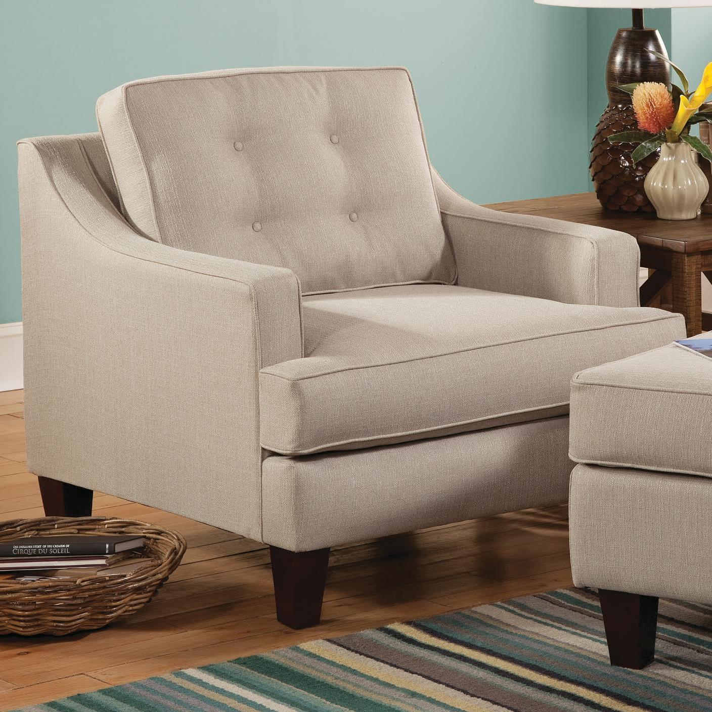 Belfort Essentials Anders Chair - Item Number: 3200-10-OffWhite
