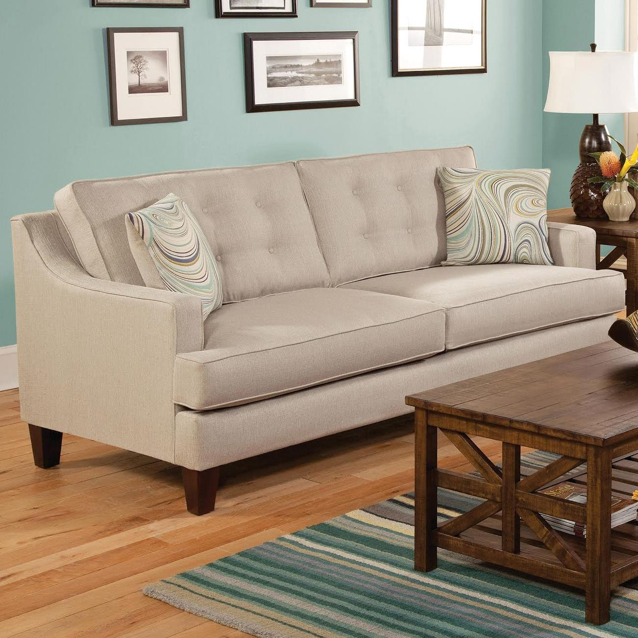 Charmant Belfort Essentials Anders Sofa   Item Number: 3200 30 OffWhite
