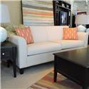 Belfort Essentials Chantilly Sofa - Item Number: 7130-30 Dum Dum Linen