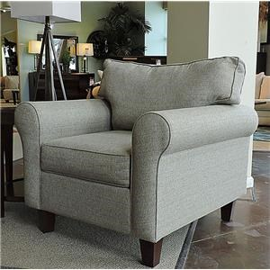 Belfort Essentials 0100-10 Clarendon Accent Chair