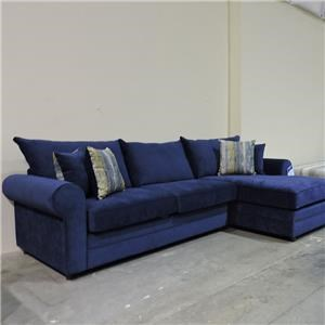 Belfort Essentials Clearance 2 Piece Sectional Sofa