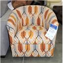 Belfort Essentials Clearance Swivel Chair - Item Number: 672138107