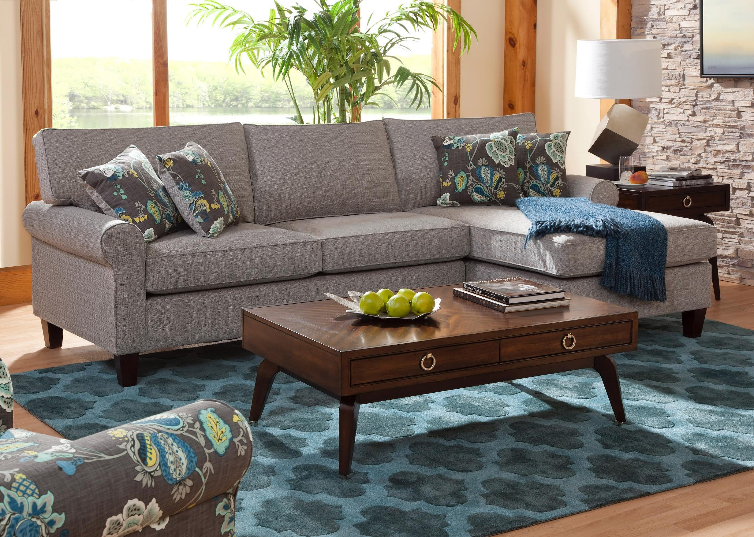 Columbia Heights Chaise Sectional Sofa