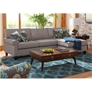 Belfort Essentials Columbia Heights Chaise Sofa