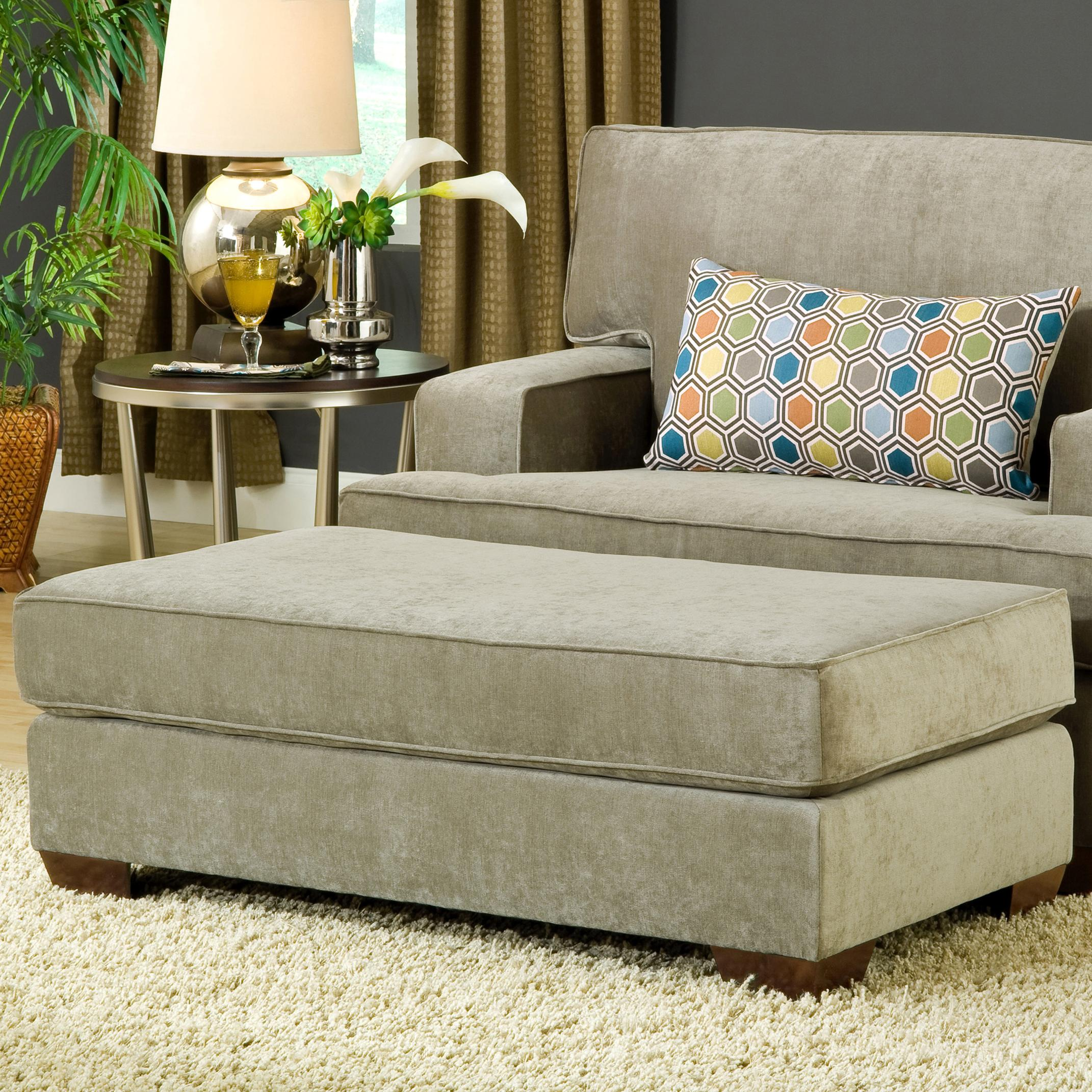 Belfort Essentials Daniel Upholstered Ottoman - Item Number: 5900-OO