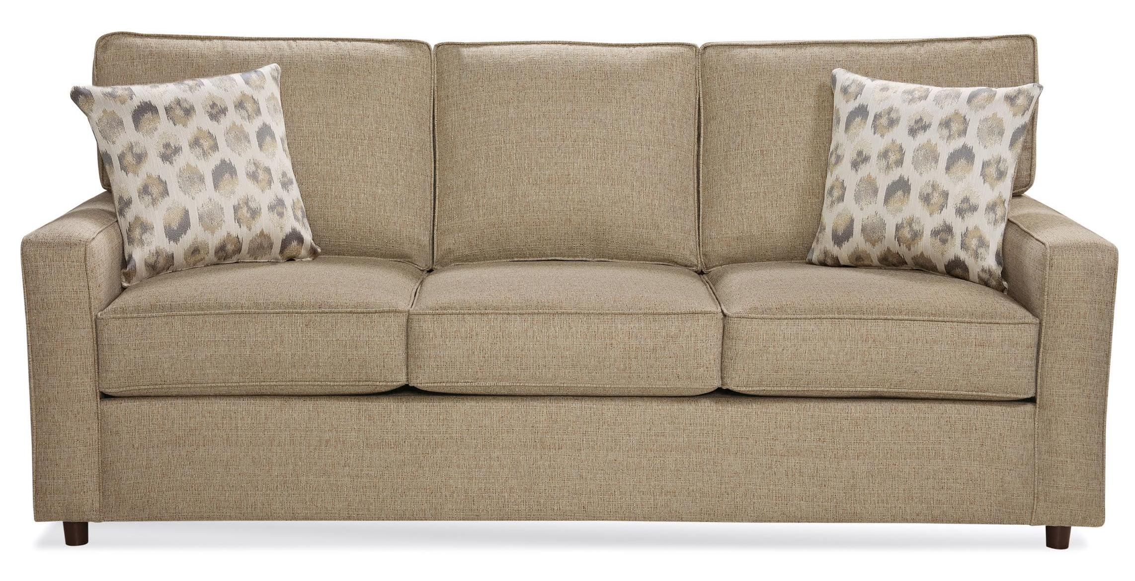 Belfort Essentials Eliot Sofa - Item Number: 9200-30-Brown
