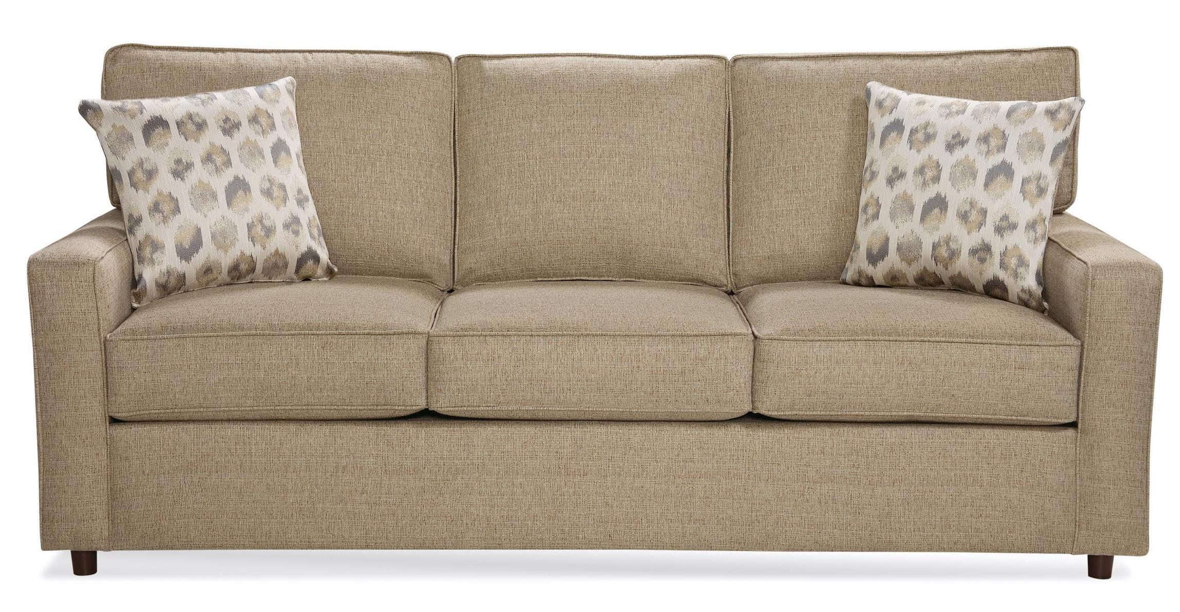 Belfort Essentials Eliot Queen Sleeper Sofa - Item Number: 9200-36-Brown