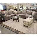 Belfort Essentials Eliot Sectional - Item Number: 9200-50R+30A+10C+30L