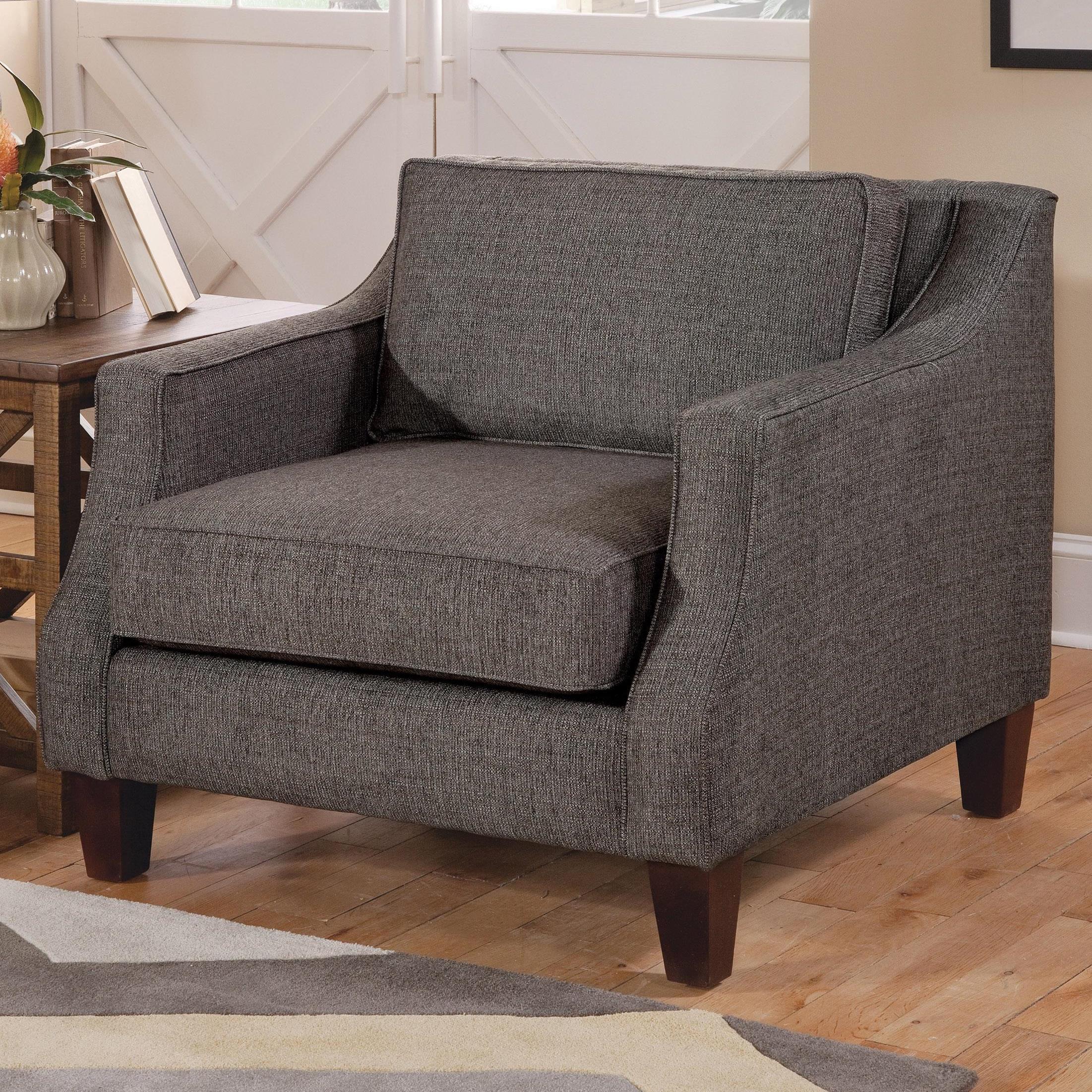 Belfort Essentials Emmett Chair - Item Number: 8600-10-Charcoal