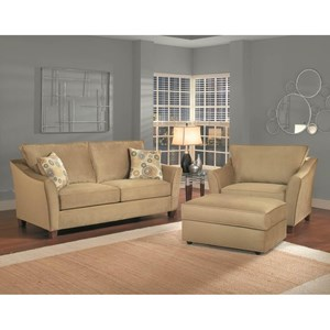 Belfort Essentials Fleetwood Stationary Living Room Group