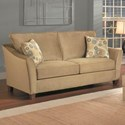 Belfort Essentials Fleetwood Studio Sofa with Tapered Arms