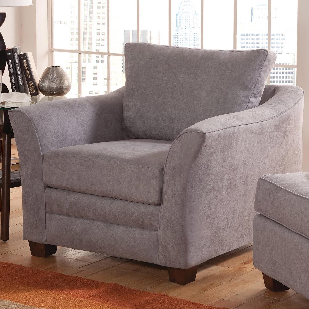 Belfort Essentials Hatfield Chair - Item Number: 940-10-LightGray