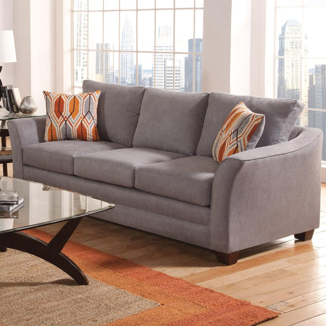 Charmant Belfort Essentials Hatfield Sofa   Item Number: 940 30 LightGray