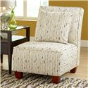 Belfort Essentials Judson Armless Accent Chair - Item Number: 0040-10