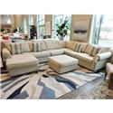 Belfort Essentials Monticello Sectional - Item Number: 5100-24L+20A+10C+20R ULTIMO