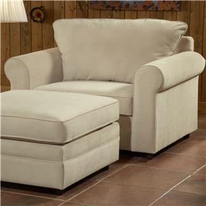 Belfort Essentials Monticello Chair & 1/2