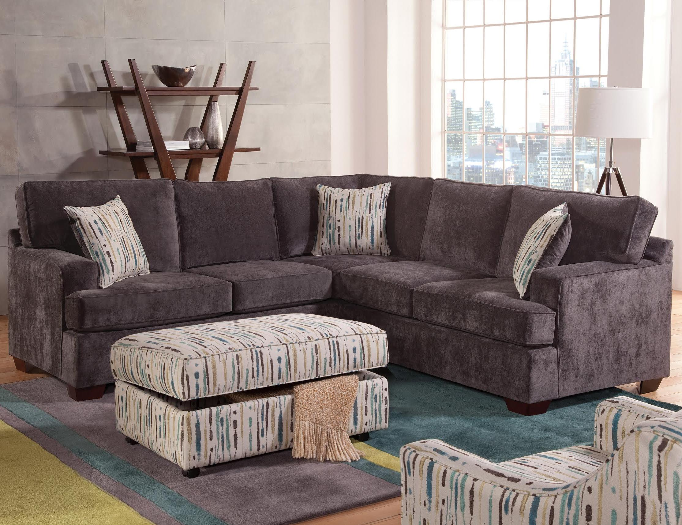 Belfort Essentials Rosslyn Casual Sectional Sofa Belfort