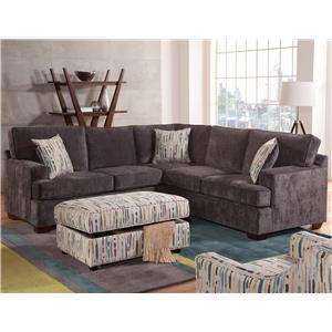 Attractive Belfort Essentials Rosslyn Sectional Sofa