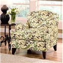 Belfort Essentials Sterling Upholstered Chair with Traditional English Rolled Arms