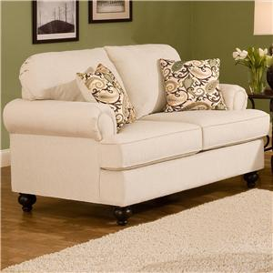 Belfort Essentials Sterling  Traditional Loveseat