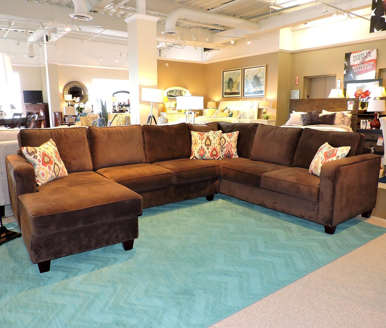 Belfort Essentials Tenley Sectional - Item Number: 4400-24L+20A+30RC