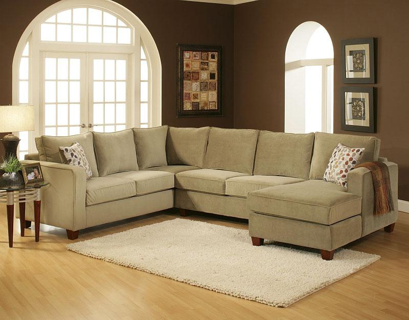 Belfort Essentials Tenley Sectional - Item Number: 4400-24R+20A+30LC