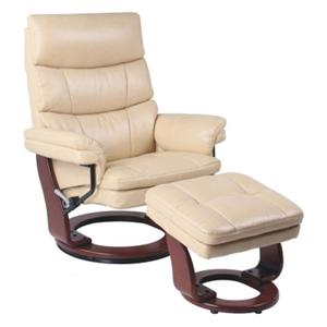 Benchmaster Classic Recliner with Adjustable Headrest