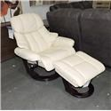 Benchmaster Clearance Nicholas Recliner with Ottoman - Item Number: 743807528