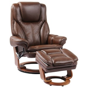 Benchmaster Hana Reclining Chair and Ottoman