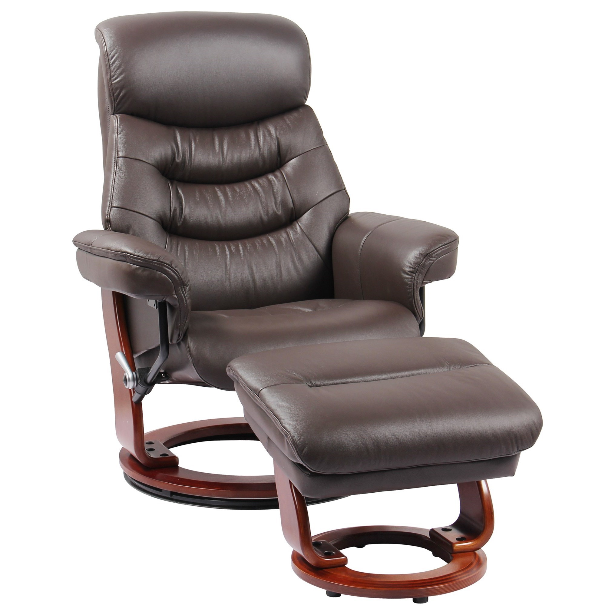 Benchmaster Happy Reclining Chair And Ottoman And
