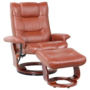 Benchmaster Monterey Reclining Chair and Ottoman