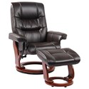 Benchmaster Rosa II Reclining Chair and Ottoman - Item Number: 7583K-003GP
