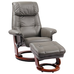 Benchmaster Ventura II Reclining Chair and Ottoman
