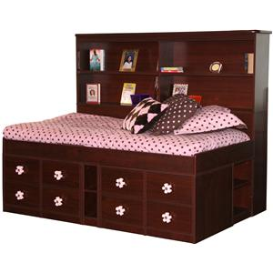 Berg Jr. Captain's Bed Twin Captain's Bed