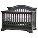 Berg Ridgewood Classic Haddonfield Crib with Adjustable Height Option