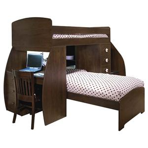 Berg Space Saver Twin Over Twin Bunk Bed