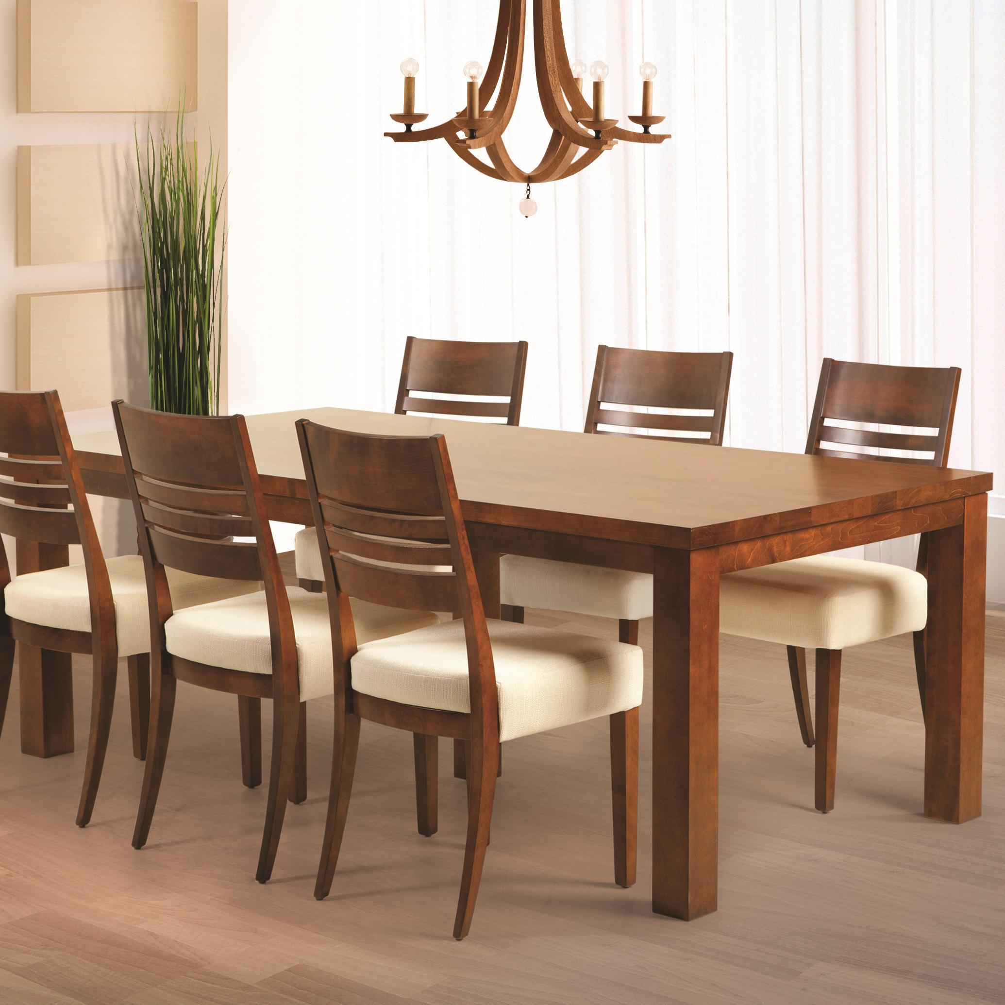 Casual Contemporary Dining Table